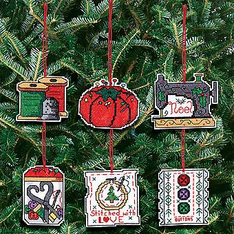 Sewing Ornaments Counted Cross Stitch Kit 3