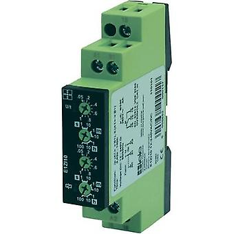 tele 110101 Time Delay Relay, Timer, 1 changeover 12 - 240 V DC/AC IP40, IP20