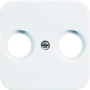 Busch-Jaeger Cover TV, Radio socket Reflex SI, Reflex SI Linear Alpine white