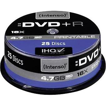 Blank DVD+R 4.7 GB Intenso 4811154 25 pc(s) Spindl