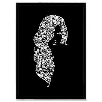 क्रिस्टल कला चित्र महिला MBP-2