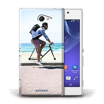 STUFF4 Case/Cover for Sony Xperia M2/Free Wheeling/Imagine It