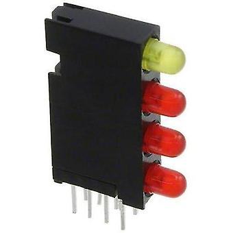 LED component Red, Yellow (L x W x H) 24 x 14.35 x 4.32 mm Dialight