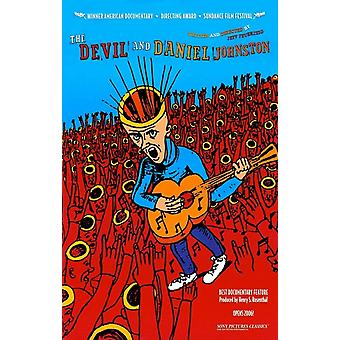 The Devil and Daniel Johnston filmposter (11 x 17)