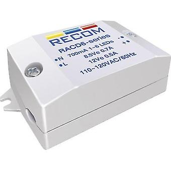 Constant current LED driver 6 W 700 mA 8.4 Vdc Re