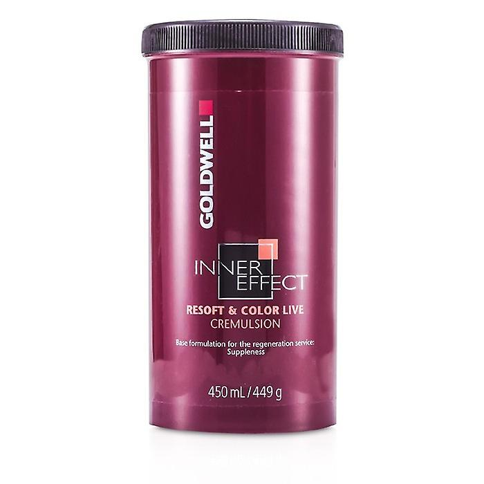 Goldwell Inner Effect Resoft & Color Live Cremulsion 450ml/15oz