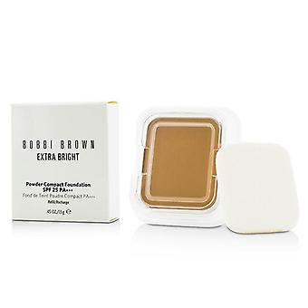 Rellenar la base compacta en polvo Extra brillante Bobbi Brown SPF 25 - #4.5 caliente Natural 13 0,45 gr