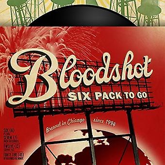 Un paquete de seis rojos ir - A Bloodshot Six Pack ir importación [vinilo] Estados Unidos