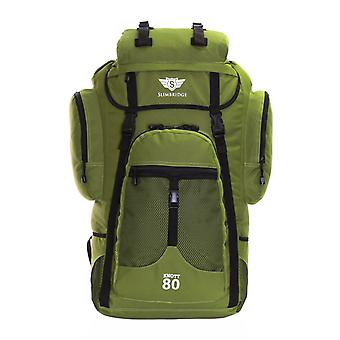 Slimbridge Knott litro 80 XL jansport mochila, de color caqui