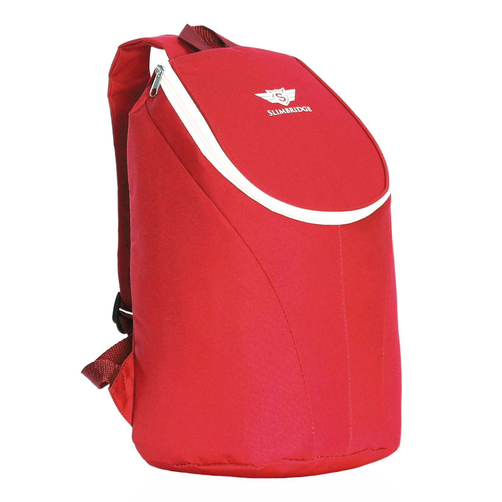 Slimbridge Seatown Insulated Picnic Backpack, Red
