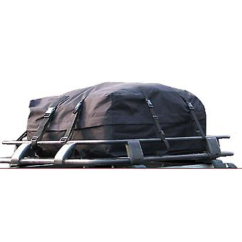 Bilen tak Bag 340 liter, vann Ressistant, justerbare stropper