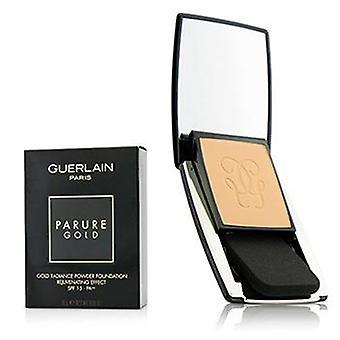 Guerlain Parure Gold Rejuvenating Gold Radiance Powder Foundation SPF 15 - # 12 Rose Clair - 10g/0.35oz