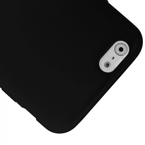 Design hybrid cover with front cover black for Apple iPhone 6 4.7