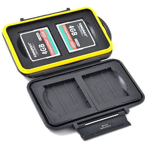 JJC Water Resistant Memory Card Hard Case for 4 x CompactFlash cards