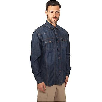 Urban Classics shirts Heavy Denim