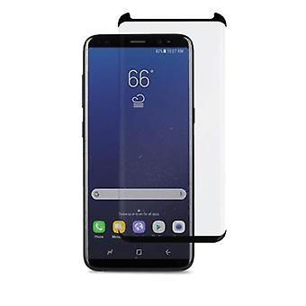 TEMPERED 3D GLASS LCD Screen Protector For SAMSUNG GALAXY S8 - BLACK
