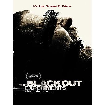 Blackout Experiments [DVD] USA import