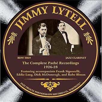Jimmy Lytell - Jimmy Lytell: Komplet Pathe optagelser [CD] USA import