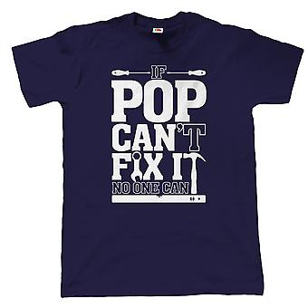 Vectorbomb, hvis Pop ikke kan ordne det, ingen kan, Herre sjov T Shirt (flere farver)