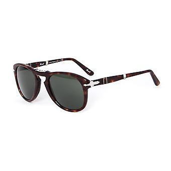 Persol 714 Havana acetato marrone Folding Aviator Occhiali da sole