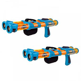 Cheatwell Games Atomic Double Barrelled Power Popper Twin Pack