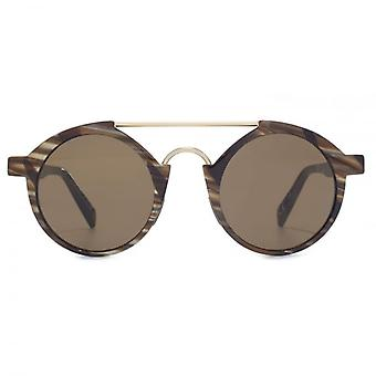 Italia Independent I-Plastic 0920 Sunglasses In Brown