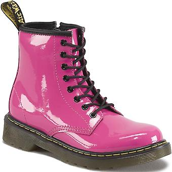 Dr. Martens Core Junior Girls Lace Up Pink Boots