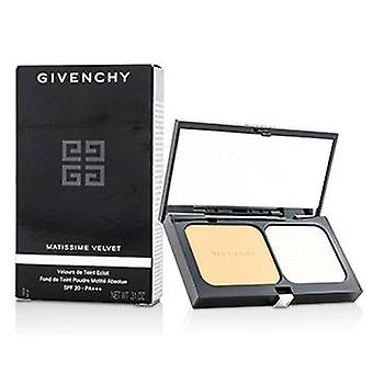 Givenchy Matissime Velvet Radiant Mat Powder Foundation SPF 20 - #05 Mat Honey - 9g/0.31oz