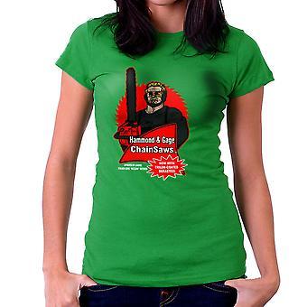 Hammond og Gage motorsave Buzzsaw kører mand dame T-Shirt
