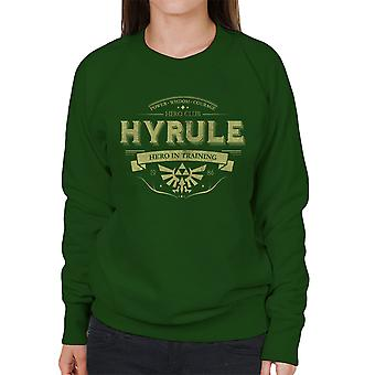 Legend Of Zelda Hyrule Hero Club Women's Sweatshirt