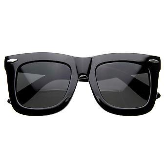 NY Celebrity Designer inspiré Womens épais Grande Corne Rimmed lunettes de soleil
