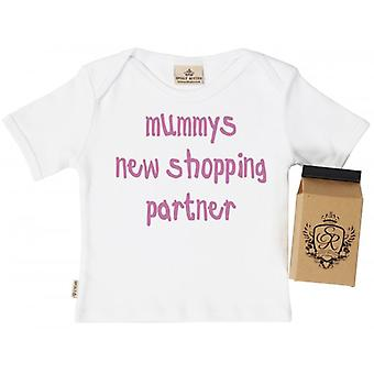 Spoilt Rotten New Shopping Partner Baby T-Shirt In Gift Carton