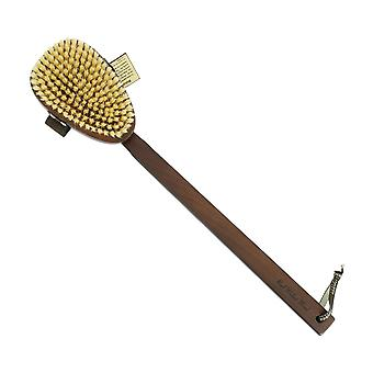 Hydrea Walnut Wood Body Brush