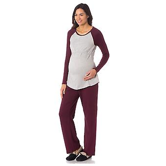 Majamas Pastime Nursing PJ Set