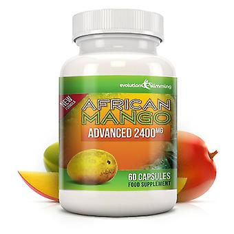 Pure African Mango Advanced 2400mg - 60 Capsules - Dietary Supplement - Evolution Slimming