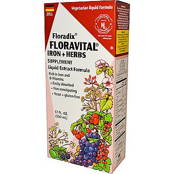 Floradix, Floravital Yeast And Gluten Free, 250ml