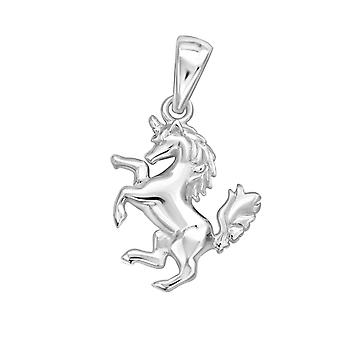 Unicorn - 925 Sterling Silver Plain Pendants
