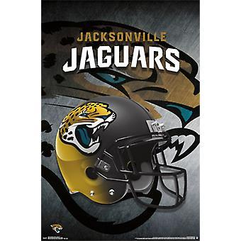 Jacksonville Jaguars - helm 2015 Poster Poster Print