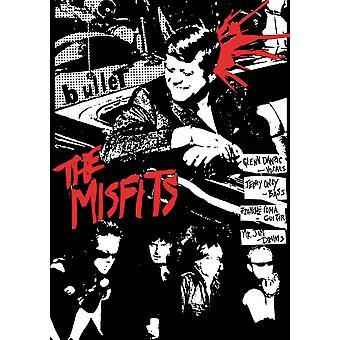 Misfits balle balle dans la tête affiche Poster Print