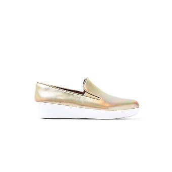 Women's Superskate Loafers - Gold Iridescent