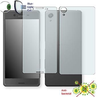 Sony Xperia X front + back screen protector - Disagu ClearScreen protector (1 front / 1 rear) (deliberately smaller than the display, as this is arched)