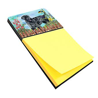 Carolines Treasures  CK1222SN Giant Schnauzer Spring Sticky Note Holder