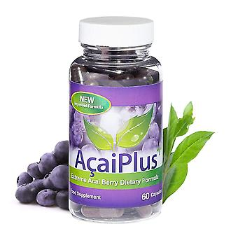 Acai Plus Extreme Acai Berry Complex - 1 Month Supply (60 Capsules) - Antioxdant - Evolution Slimming