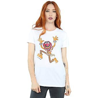 Disney Women's The Muppets Classic Animal Boyfriend Fit T-Shirt