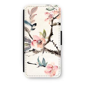 iPhone 8 Flip Case - Japenese flowers