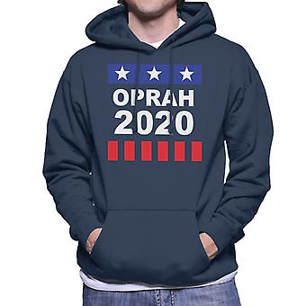 Oprah Winfrey For President 2020 Men's Hooded Sweatshirt
