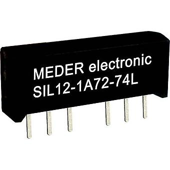 Reed relay 1 maker 24 Vdc 0.5 A 10 W SIL 4
