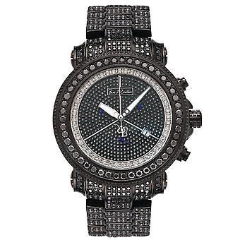Joe Rodeo diamond men's watch - JUNIOR black 27 ctw
