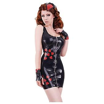 Westward Bound Boudoir Love Hearts Latex Rubber Top