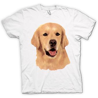 Mens T-shirt - Golden Retreiver - Pet Dog